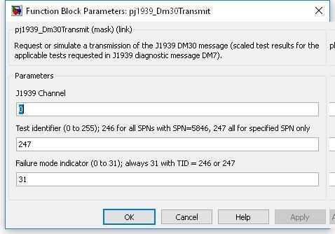 7 7 46  J1939 DM30 transmit (pj1939_Dm30Transmit)
